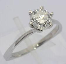 ♦ Ring in aus 750er 18kt Weiß Gold mit Diamant Brillant Brilliant Solitär 1,45ct