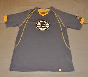BNWT Majestic Boston Bruins Men's Practice Performance T-Shirt Shirt (S) Jersey