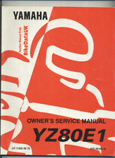 Yamaha YZ 80 E1 E LC (92-93) Factory Service Repair Manual Book 4ES YZ80LC CJ11
