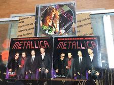 Metallica Star Profile Interview CD & Book 1997 Mastertone! Tested!