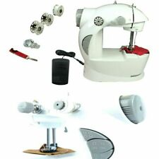 Macchina per cucire cucitrice MINI 4in1 portatile da viaggio pedale rocchetti of