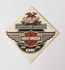 Vintage '98 Miller/Harley Davidson Cycles 95th Anniversary Temporary Tattoo x 25