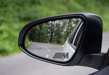 BMW M PERFORMANCE LOGO MIRROR VINYL DECAL STICKERS GRAPHICS SILVER ETCH X4