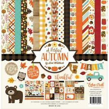 A PERFECT AUTUMN Collection Kit 12X12 Scrapbooking Kit Echo Park APA132016 New