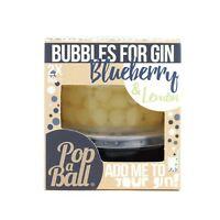 Popaball Bursting Bubbles For Gin Blueberry & Lemon Flavour Bubble Tea Drink
