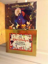 Lot of 2 Sealed Walt Disney Calendars:1982 Classics Calendar & 1992 Walt Disney