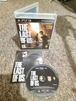 The Last Of Us - Sony Playstation PS3 - Complete - Private Seller - FREE P&P!