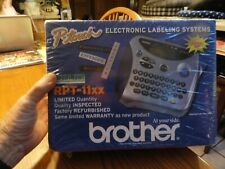Brother Electronic Labeling System P Touch Rpt 11xx Factory Refurb Sealed New