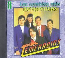 Los Temerarios Las Cumbias Mas Romanticas CD New Nuevo sealed