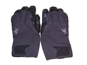 Arcterxy Gore-Tex Gloves with Polartec Wind Pro Liner - Black - Men's Medium