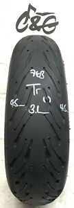 Michelin Road 5 2ct+   180/55zr17    Part Worn Motorcycle Tyre 763