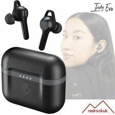 Skullcandy Indy Evo In-Ear True Wireless Headphones IP55 Ear Buds - Black