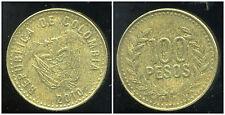 COLOMBIE 100 pesos 2010