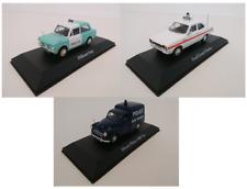 Set 3 models FORD HILLMAN MORRIS British Polizei auto 1:43 ATLAS DIECAST CAR