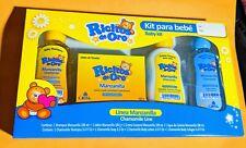 Kit Ricitos De Oro Shampoo†Crema†Colonia †Jabon Bebe C/Manzanilla † Baby Set