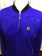 Womens Pearl Izumi technical wear Pull Over Shirt  LS Purple Size Medium 1/4 Zip