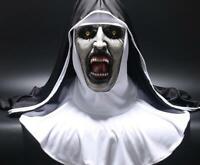 Maschera suora The Nun horror halloween per adulti lattice mask carnevale unisex