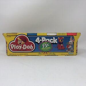 Vintage 1987 Kenner 4-Pack Play-Doh Sealed UNUSED