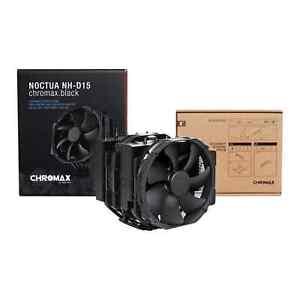 Noctua Intel/AMD NH-D15 chromax.black CPU Premium Cooler for Intel / AMD