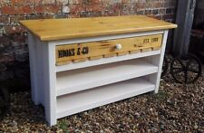 Rustic Painted TV Stand