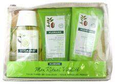 Klorane Travel Kit 3 items:Mon Rituel Vitalite Case All Types of Hair and Skins