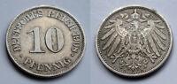 Deutsches Reich - Kaiserreich - 10 Pfennig - 1908 A (4)