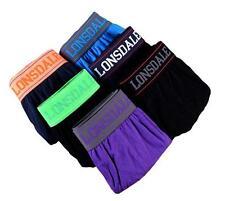 4 Pair x Lonsdale Size S M L Men's Briefs Underwear Underpants -  Multi colour