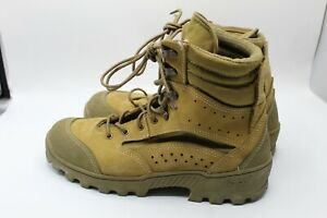 Used Hot Weather Combat Hiker Vibram Sole Boots, Made in the USA Size 6.5W