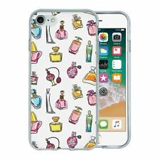 For Apple iPhone 8 Silicone Case Perfume Cool Pattern - S1242