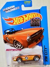 HOT WHEELS 2014 HW CITY - HW ALL STARS TRIUMPH TR6 KROGER FACTORY SEALED