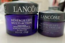 Sealed Lancome RENERGIE LIFT MULTI-ACTION Lifting & Firming Cream & Eye Cream