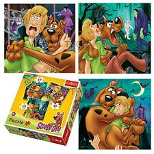 Trefl 3 In 1 20 + 36 + 50 Piece Boys Kids Scooby Doo & Shaggy Jigsaw Puzzle NEW