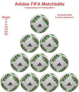 Original Adidas Olympia FIFA Matchbälle Spielbälle Ballpaket Auslaufmodell