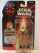Star Wars Episode 1 Boss Nass CommTech Naboo Action Figure Hasbro 1999 MOC