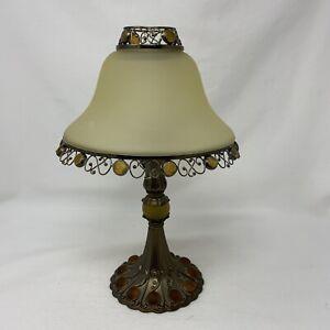 Partylite - PARIS RETRO Tea Light CANDLE LAMP w/shade