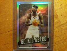 MO BAMBA 2019 LEAF ROOKIE RETRO SILVER REFRACTOR RC IN CASE MAGIC TEXAS! ;]