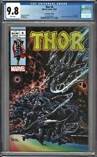 Thor #6 CGC 9.8 Kyle Holtz TRADE Variant Cover A SILVER SURFER HOMAGE