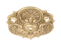 TRIPLE CHAIN DROP { CAST BRASS } CEILING LIGHT PENDANT CANOPY ~ by PLD