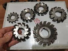 Metal Tools Milling Gear Hob Cutter Module 6 Piece