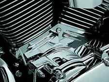 KURYAKYN CHROME CYLINDER BASE COVER FOR 1999-2005 HARLEY DAVIDSON FXDWG DYNA WG