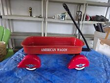 AMERICAN WAGON Little Red Toy Wagon COLLECTABLE