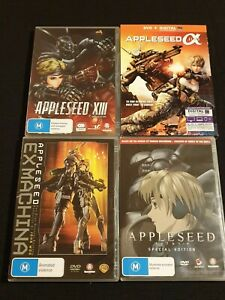 Appleseed XIII Series▪︎Appleseed EX Machina▪︎Appleseed Alpha A▪︎Appleseed Movie