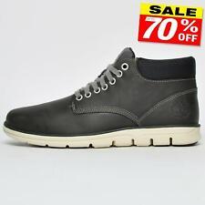 Timberland Bradstreet Mens Leather Chukka Designer Boots Black B Grade
