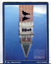 Leica Fotografie Magazine English Ed. No. 5 1984 D. Geuther EX 032817lej