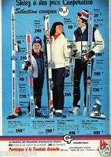 Publicité advertising 1979 Les Vetements de Ski Golden Team