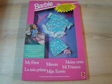 BARBIE VINTAGE - MY FIRST/HABILLAGE/FASHIONS - REF: 3423 - MATTEL 1992 - NEUF -