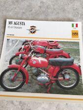 MV Agusta 83 cm3 Ottantatre 1959 Karte Motorrad Sammlung Atlas Italien