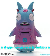 StrangeCo Vivisect Playset Pink Slugworth by Thomas Han Vinyl MIB
