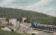 AK Gare brun Marais et bielstein Tunnel harz-zahnrad FERROVIAIRE environ (ak991)