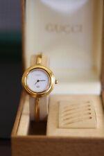 Authentic Gucci Watch Ladies Interchangeable Bezels 1100L 11/12.2 PETITE SMALL